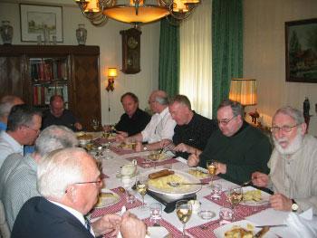 Passionisten aan tafel (2)