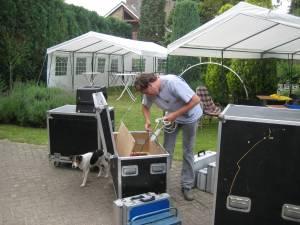 vrijwillige inzet en verzorging door Willem